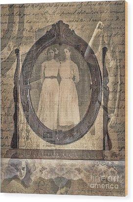 Long Ago Wood Print by Betty LaRue