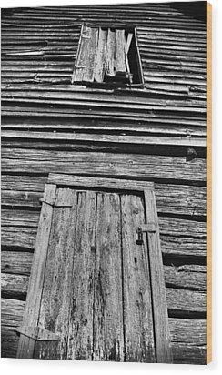 Long Tall Barn Wood Print by Greg Sharpe
