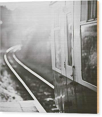 Long Train Running Wood Print by James Homer