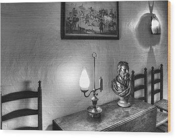 Longfellows Wayside Inn Wood Print by Lee Fortier