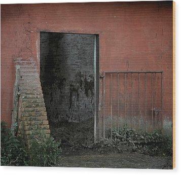 Look Inside Wood Print by Odd Jeppesen