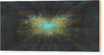 Look Up Wood Print by Tim Allen