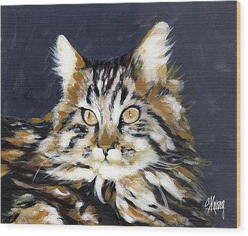 Looking At Me? Wood Print