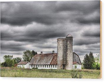 Looks Like Rain Wood Print by JC Findley