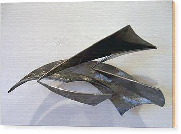 Loosing The Bag Of Aeolis Wood Print by John Neumann