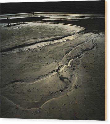 Loosing The World Wood Print by Akos Kozari