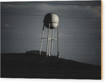 Wood Print featuring the photograph Lopsided Tower by Jessica Shelton