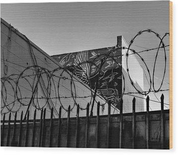 Los Angeles 033 Wood Print by Lance Vaughn