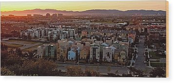 Los Angeles Vista Wood Print by Photo taken by Phong Ho