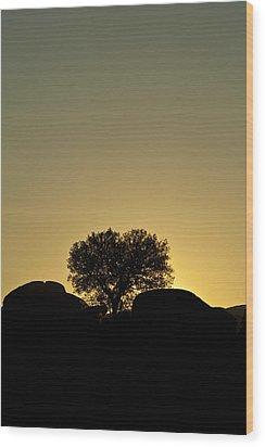Los Barruecos Wood Print