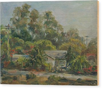 Los Rios Afternoon Wood Print