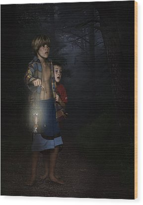 Lost Wood Print by Hazel Billingsley
