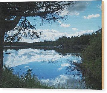 Lough Eske Wood Print