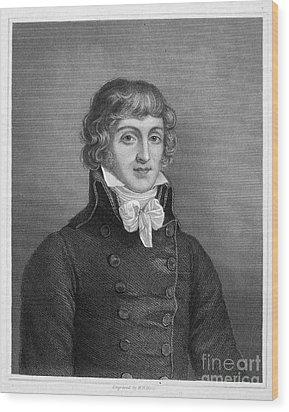 Louis Saint-just (1767-1794) Wood Print by Granger