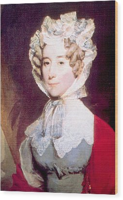 Louisa Adams 1775-1852, First Lady Wood Print by Everett