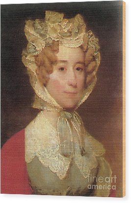Louisa Adams Wood Print by Photo Researchers