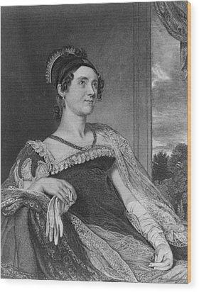 Louisa Catherine Adams Mrs. John Quincy Wood Print by Everett