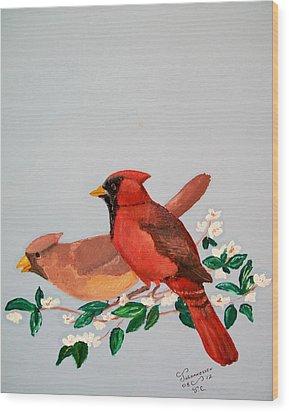 Love Blossems   Unframed Wood Print by Al  Johannessen