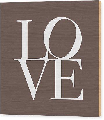 Love In Chocolate Wood Print by Michael Tompsett
