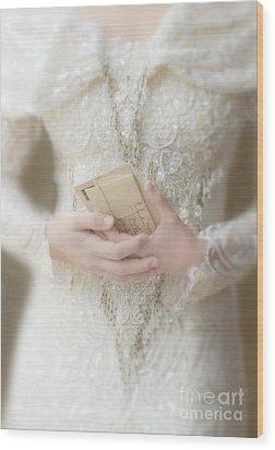 Love Letters Wood Print by Jill Battaglia