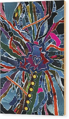 Love Spinner  Wood Print by Kenneth James