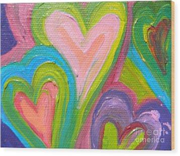 Lover 2 Wood Print