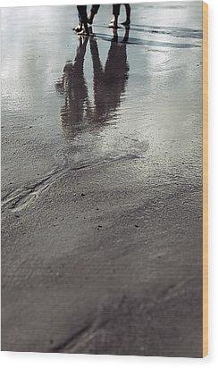 Low Tide Wood Print by Joana Kruse
