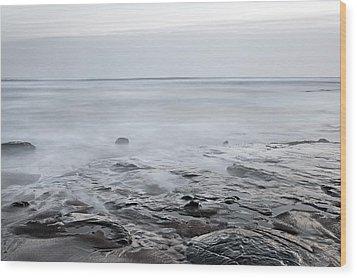 Low Tide Wood Print by Svetlana Sewell