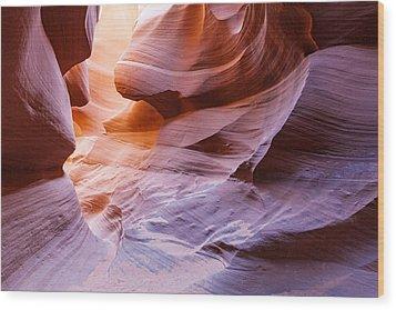 Lower Antelope Canon Wood Print by Daniel Osterkamp
