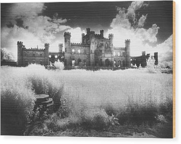 Lowther Castle Wood Print by Simon Marsden