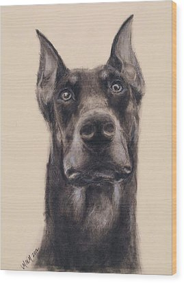 Loyalty Wood Print by Michelle Wolff