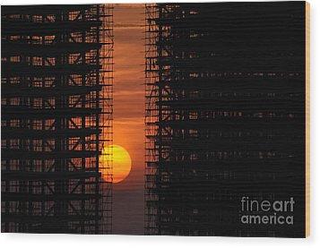 Luanda - Angola Wood Print by Armando Carlos Ferreira Palhau