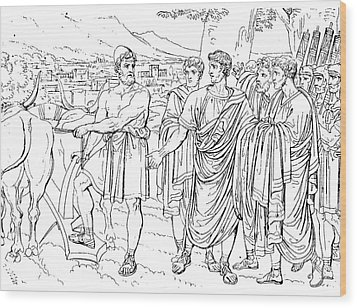 Lucius Cincinnatus Wood Print by Granger
