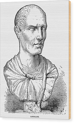 Lucius Licinius Lucullus Wood Print by Granger