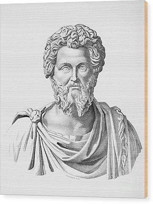 Lucius Septimius Severus Wood Print by Granger