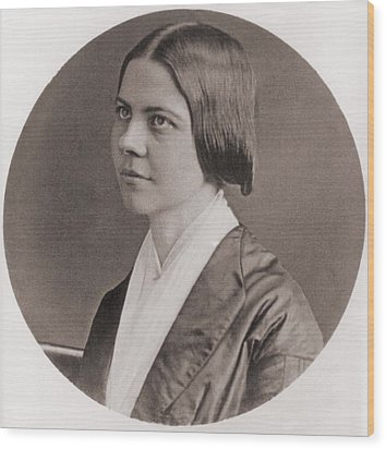 Lucy Stone, 1818-1893, American Wood Print by Everett