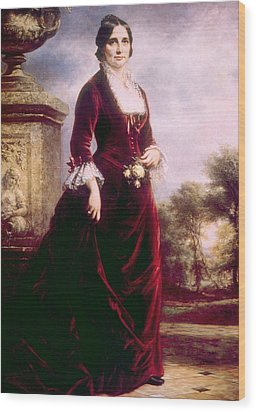 Lucy Ware Webb Hayes 1831-1889, First Wood Print by Everett