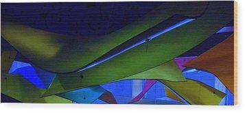 Luluminous 1 Wood Print by Randall Weidner