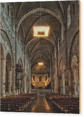Lund Cathedral Wood Print by Wade Aiken