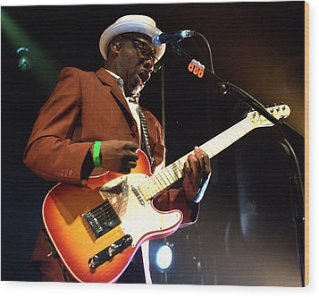 Lynval Golding-the Specials Wood Print