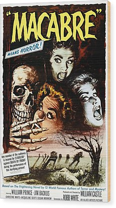 Macabre, 1958 Wood Print by Everett