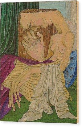 Madeleine Wood Print