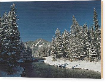 Madison River, Gallatin National Wood Print by Raymond Gehman