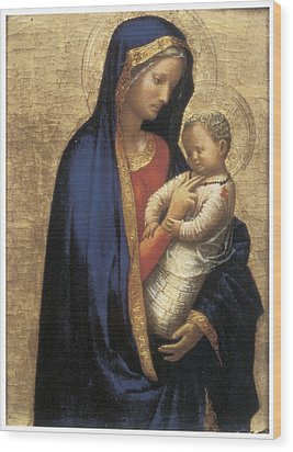 Madonna Casini Wood Print by Tommaso Macassio