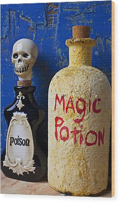 Magic Potion Wood Print by Garry Gay