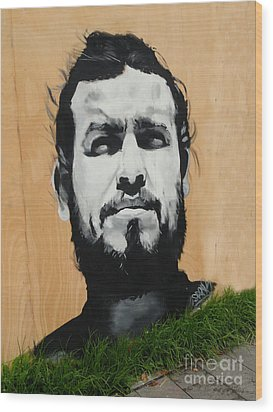 Magnificent Street Art Wood Print by Al Bourassa