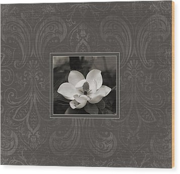 Magnolia Art Wood Print