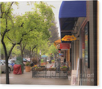 Wood Print featuring the photograph Main Street by Leslie Hunziker