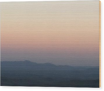 Wood Print featuring the photograph Majestic Blue Ridge Mountains by Elizabeth Coats