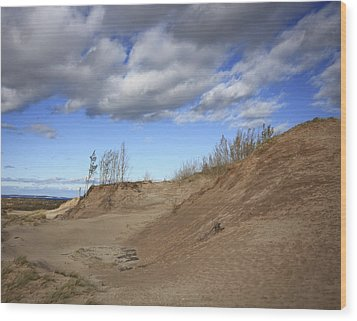 Wood Print featuring the photograph Majestic Dunes by Patrice Zinck